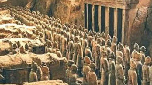 В Китае нашли 165 древних захоронений (фото)