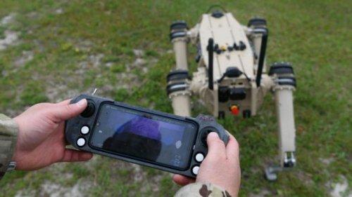 Американская армия получила собаку-робота