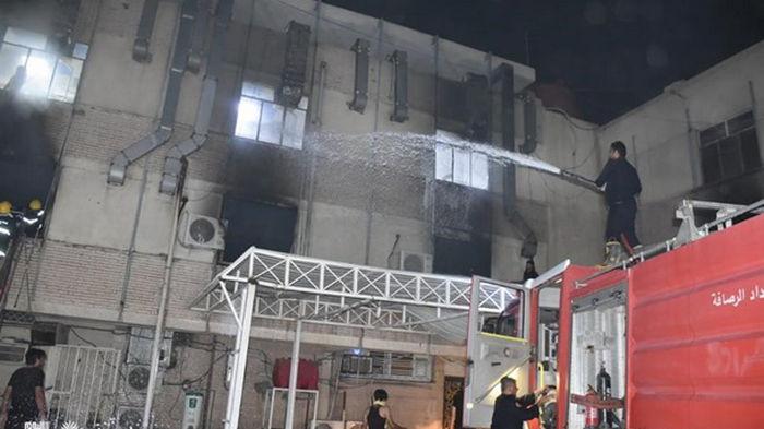 В Багдаде прогремел взрыв в клинике для больных коронавирусом (видео)