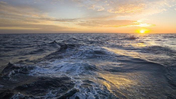 Немного страшно. Исследователи обнаружили, что скорость океанских течений сильно меняется