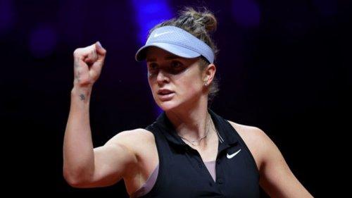 Свитолина с камбэком обыграла Квитову и вышла в полуфинал турнира в Штутгарте