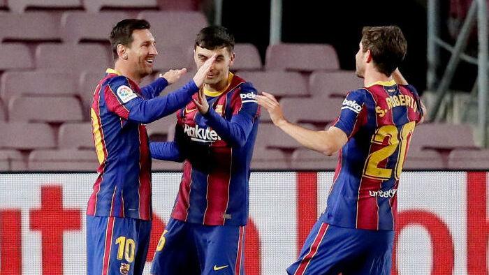 Барселона сенсационно упустила шанс стать лидером чемпионата Испании