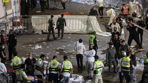 В Израиле во время праздника упала трибуна, десятки погибших (фото)