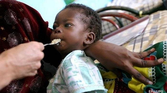 Число голодающих в мире достигло пятилетнего максимума