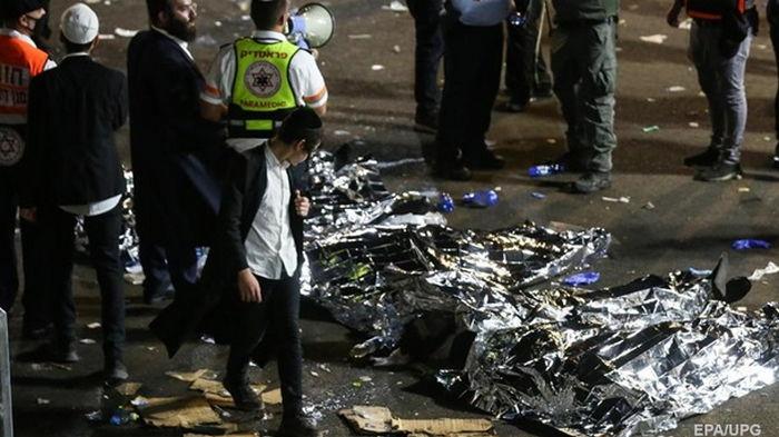 Украина выразила соболезнование Израилю из-за трагедии на горе Мерон