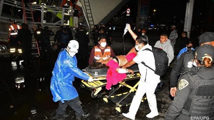 Крушение поезда в Мехико: число жертв достигло 23 человек