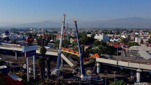 Названа предварительная причина крушения поезда метро в Мехико