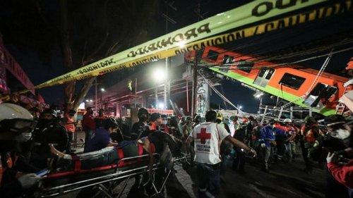 Семьям погибших при крушении поезда метро в Мехико выплатят компенсаци...