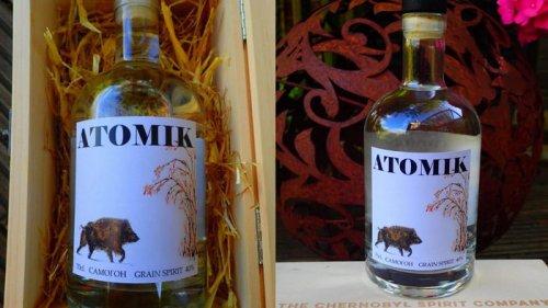 В Украине конфисковали чернобыльскую водку перед ее отправкой в Британ...