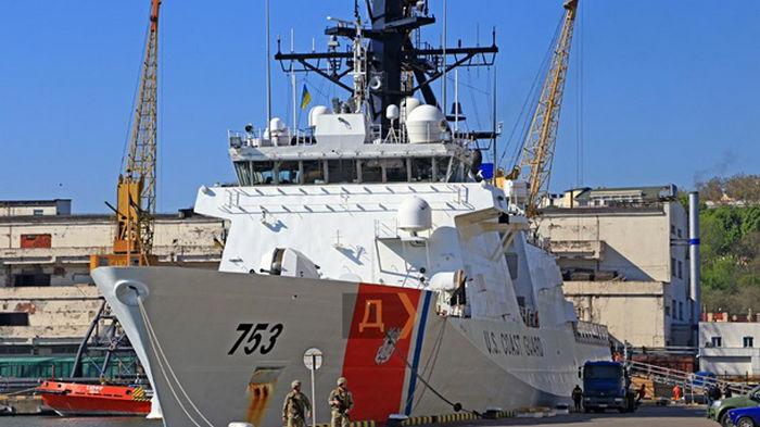 Корабль береговой охраны США зашел в Одессу