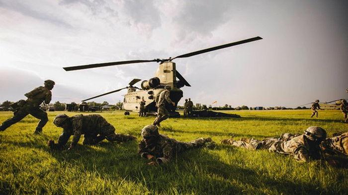 На учениях в Эстонии пострадали американские военные