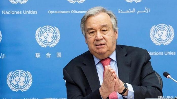 Гутерриш призвал прекратить огонь в Израиле и Газе