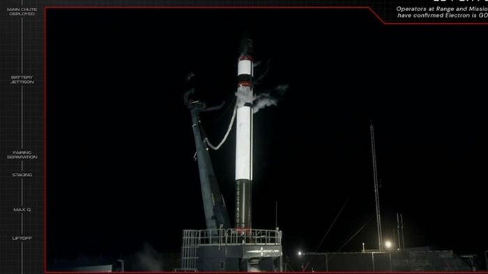 Запуск ракеты Rocket Lab со спутниками потерпел неудачу (видео)