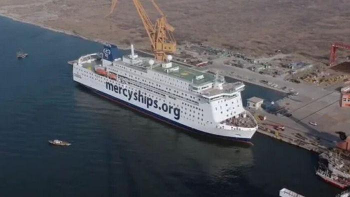 Крупнейшее в мире гражданское госпитальное судно успешно прошло испытания: видео