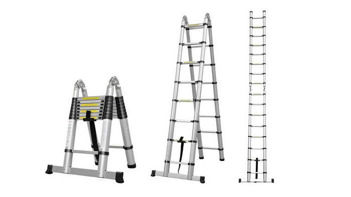 Лестницы со стабилизатором: особенности, плюсы и минусы