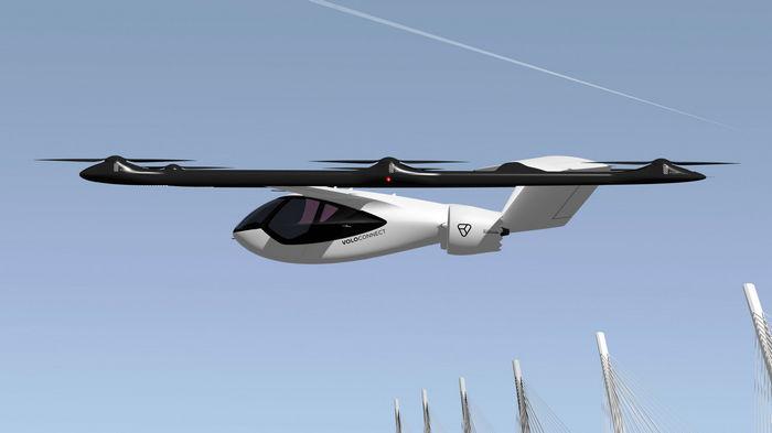 100 км с ветерком: немецкий стартап представил новое аэротакси (видео)