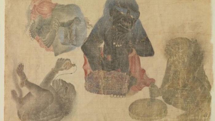 Найдено древнейшее изображение гориллы за пределами Африки