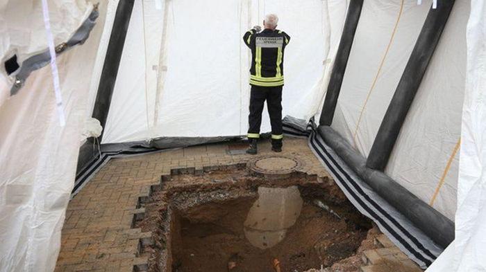 В Германии обнаружен восьмиметровый тунель, ведущий к банку