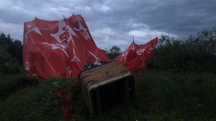Падение воздушного шара: медики рассказали о состоянии пострадавших