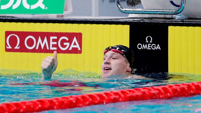 Украинец Говоров стал вице-чемпионом Европы по плаванию