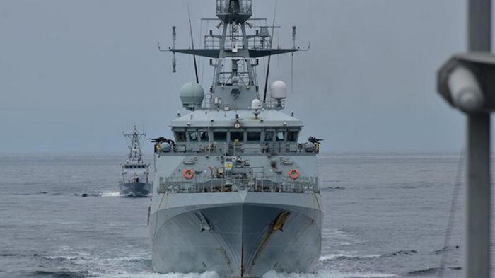 ВМС Украины и Британии провели совместные учения в Черном море