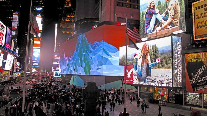Особенности использования светодиодных экранов для рекламы