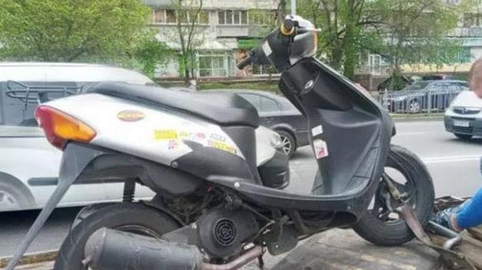 Вызвавший эпичную погоню скутерист сам сдался копам (видео)