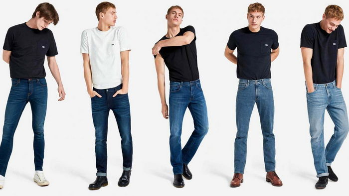 Модные модели брендовых мужских джинс