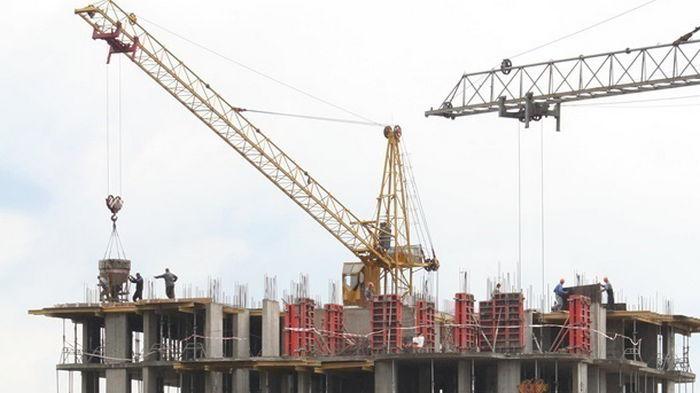 В Украине увеличились объемы строительства