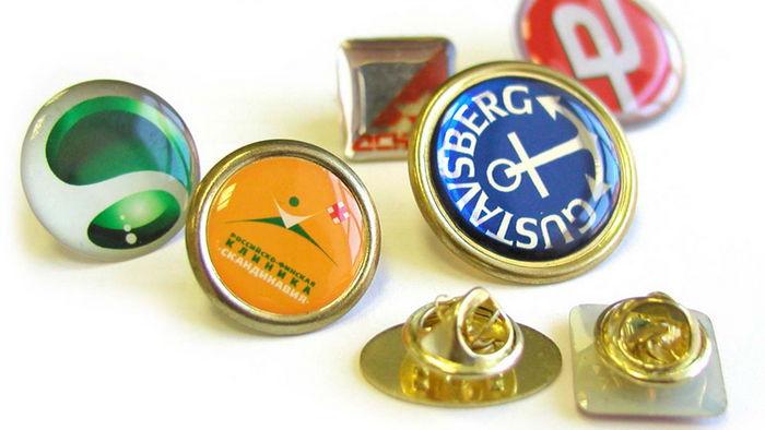 Значки и эмблемы для компаний