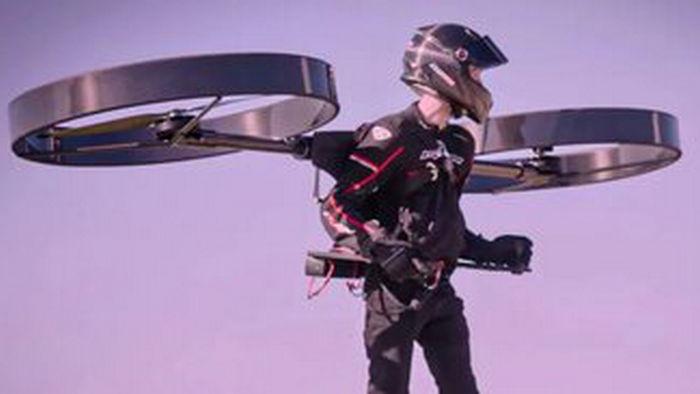 В Австралии испытали электрический реактивный ранец: видео