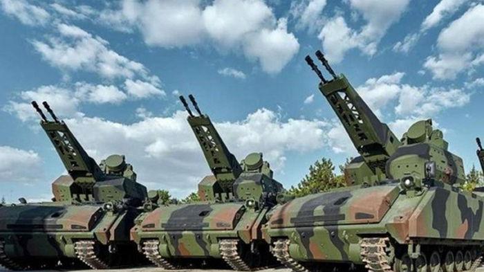 Турция предлагает Украине купить самоходный зенитный комплекс Korkut (видео)