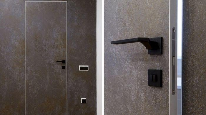 Основные преимущества скрытых дверей с алюминиевым профилем