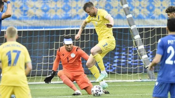 В последнем матче перед Евро-2020 сборная Украины разгромила сборную Кипра