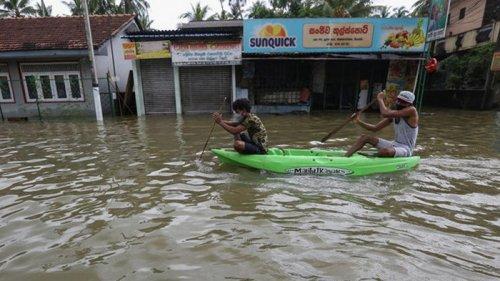 На Шри-Ланке наводнение, есть жертвы (фото)