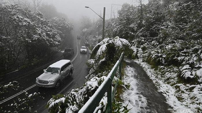 В Австралии резко похолодало, есть жертвы
