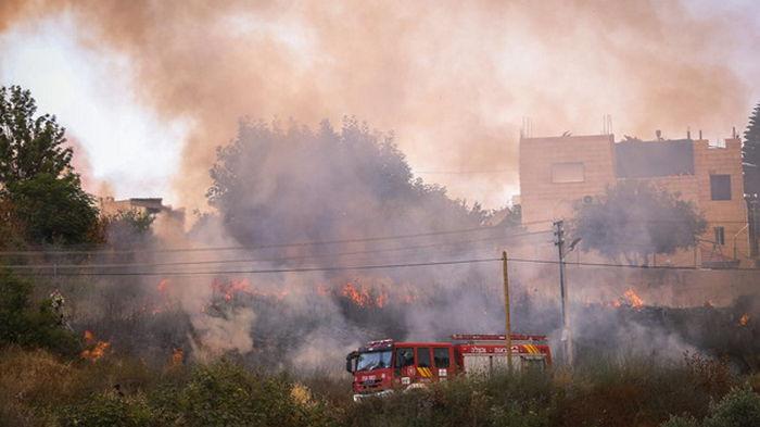 Пожары в Иерусалиме: идет эвакуация, прервано железнодорожное сообщение