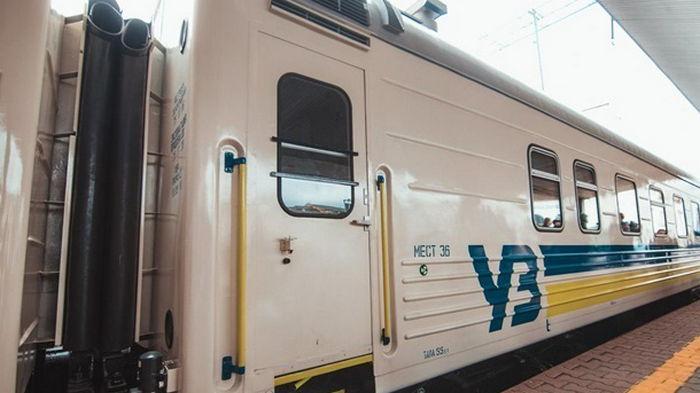 Решил сэкономить: мужчина добрался из Киева до Винницы между вагонами (видео)