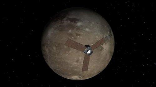 Появились фото гигантского спутника Юпитера