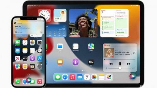 Apple представила iOS 15 и iPadOS 15