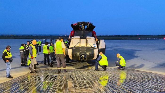 Ан-124 за раз доставил пять вертолетов из Польши на Филиппины (фото)