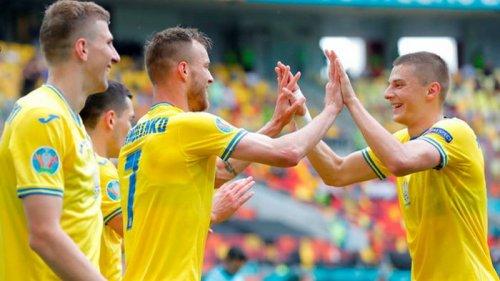 Украина прервала серию поражений на Евро