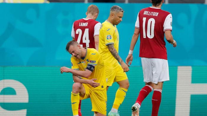 Украина проиграла Австрии и заняла третье место в группе