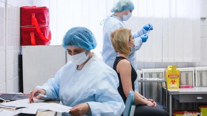 Украина переходит к пятому этапу вакцинации - МОЗ