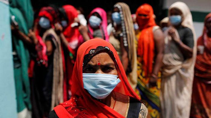 В Индии обнаружен новый вид мутации коронавируса