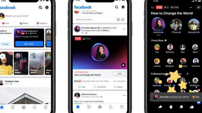 Facebook запустил конкурента Clubhouse и формат подкастов