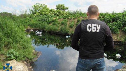 СБУ: Под Винницей предотвращена экологическая катастрофа (видео)