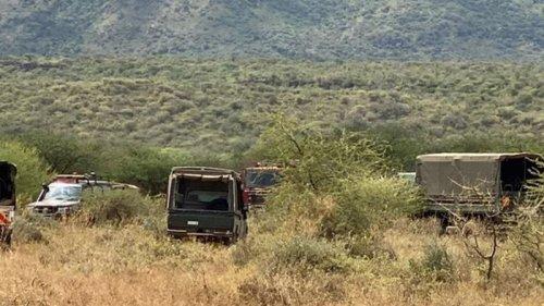 Крушение вертолета в Кении: погибли десять военных (видео)