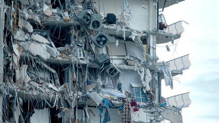 Число жертв в результате обвала многоэтажки в Майами достигло 10