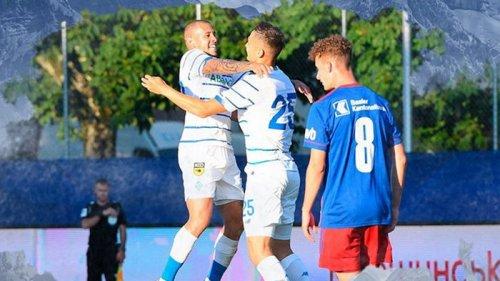 Динамо и Базель в результативном матче сыграли вничью